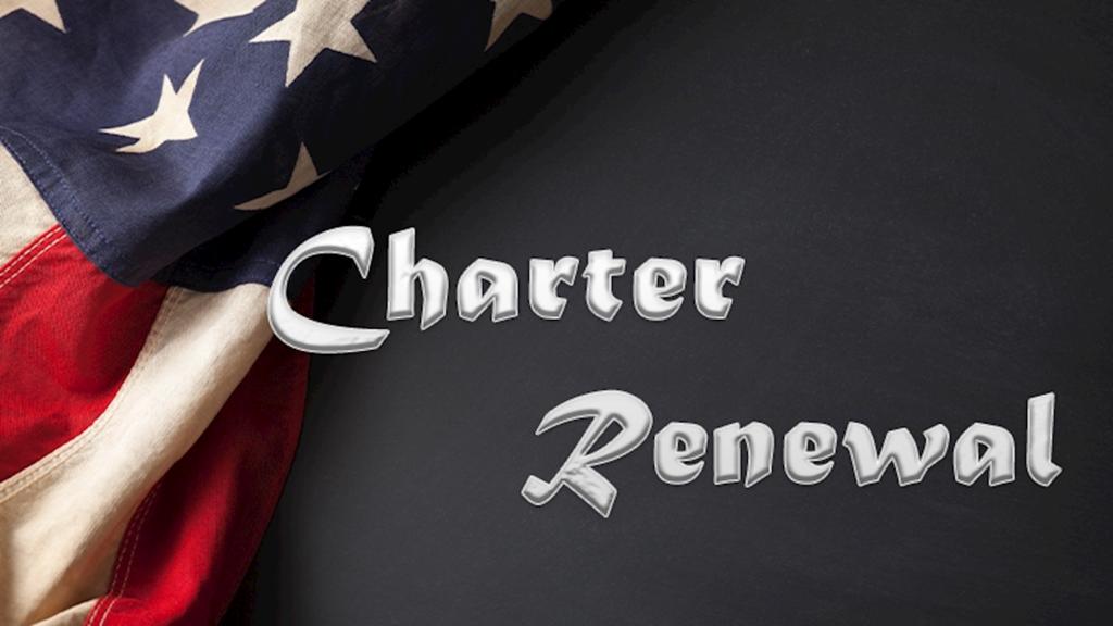 Unit Charter Renewal Information