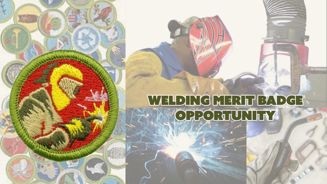 Welding Merit Badge 2021